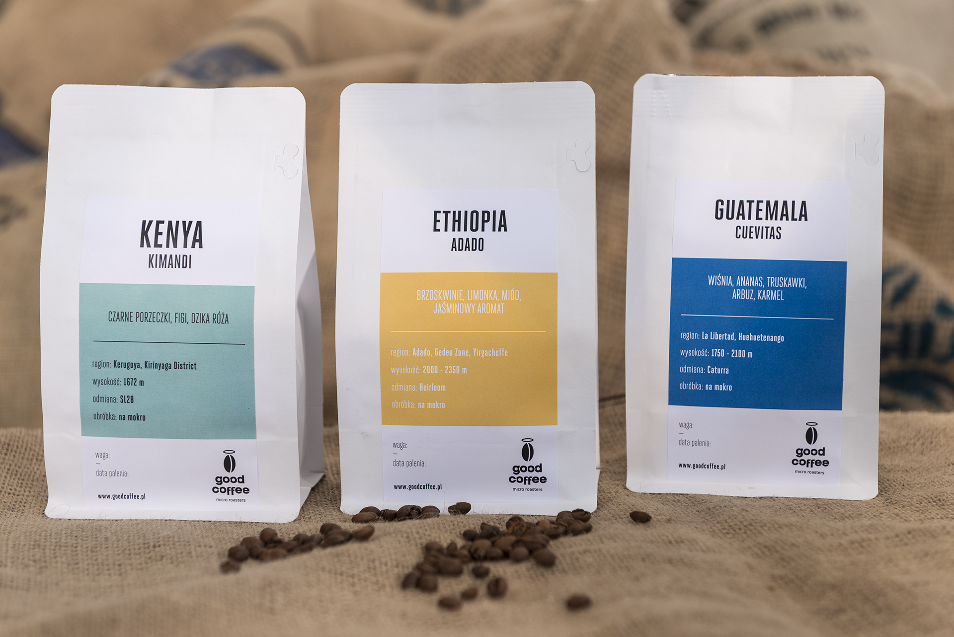 świeżo palona kawa od Good Coffee micro roasters