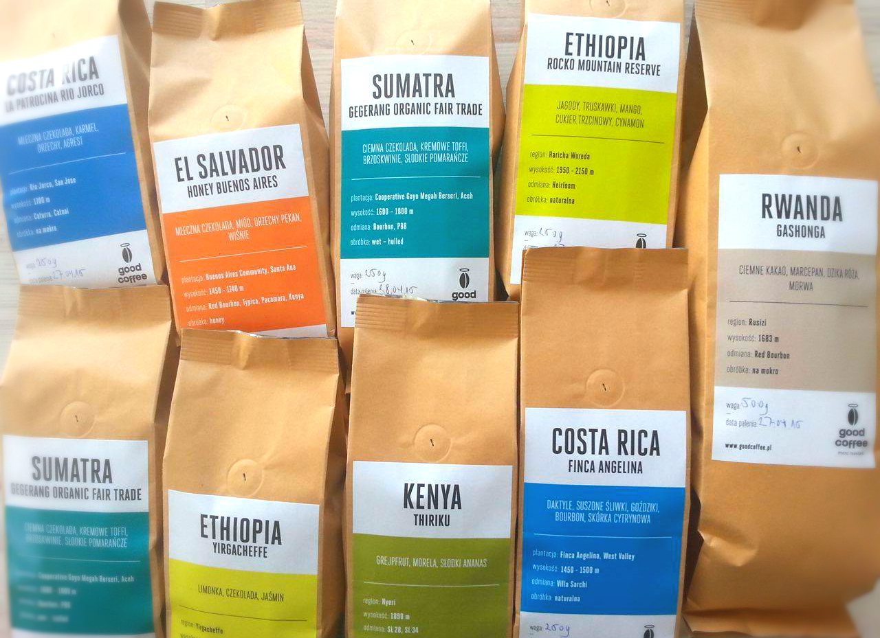 świeżo palona kawa od Good Coffee micro roasters